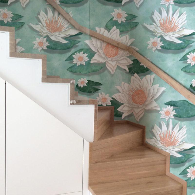 tapety tropikalne,dobre tapety,motyw wody, motyw wody na tapecie,motyw lilii wodnej