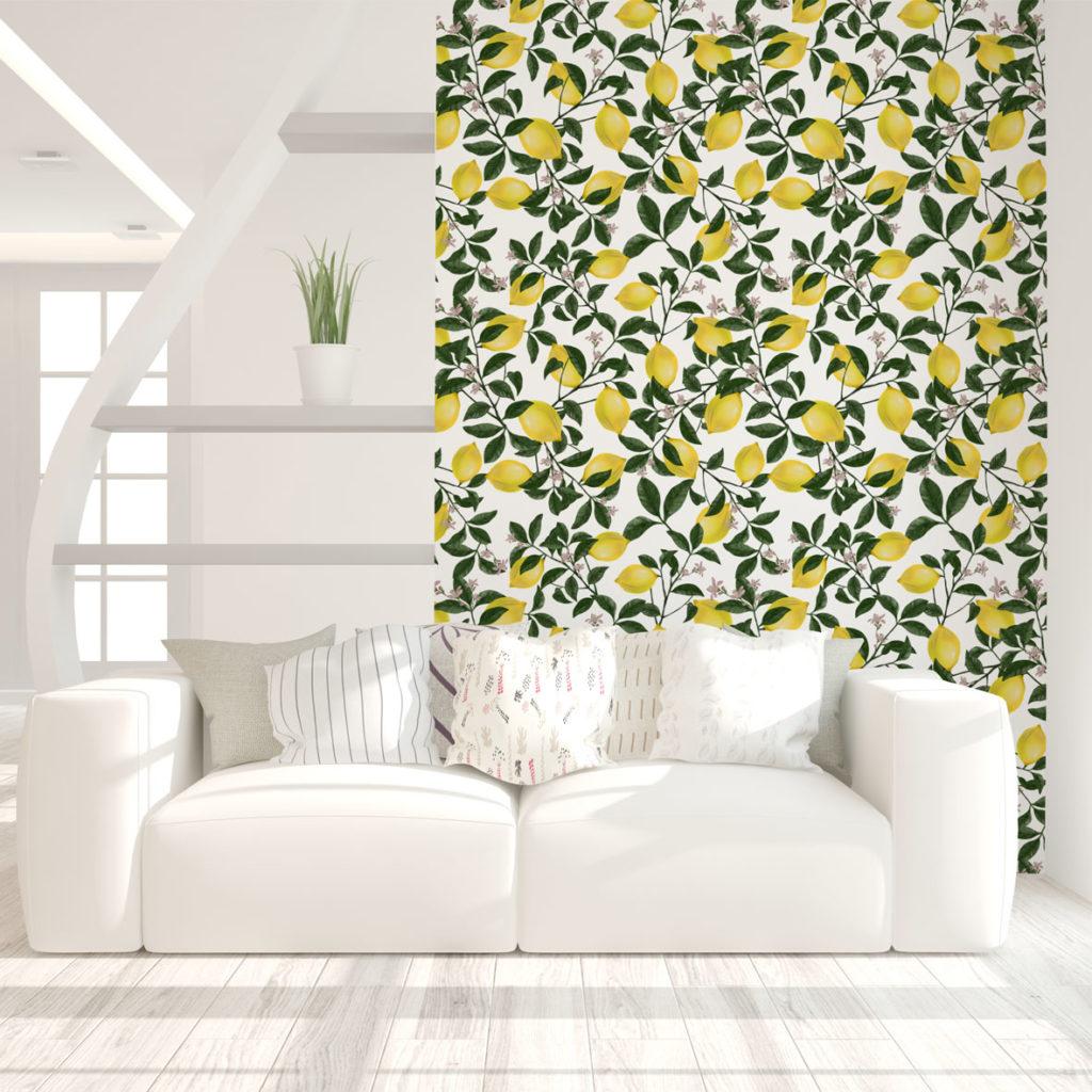 tapety tropikalne, patternosophy, autorskie wzory tapet