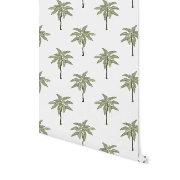 tapeta w palmy, tapeta w tropiki, tapeta w liście