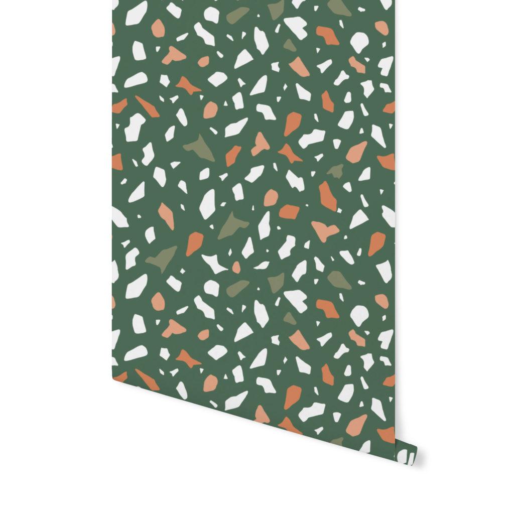 terrazzo pattern, wzór terrazzo,tapeta terrazzo,tapeta kolorowa