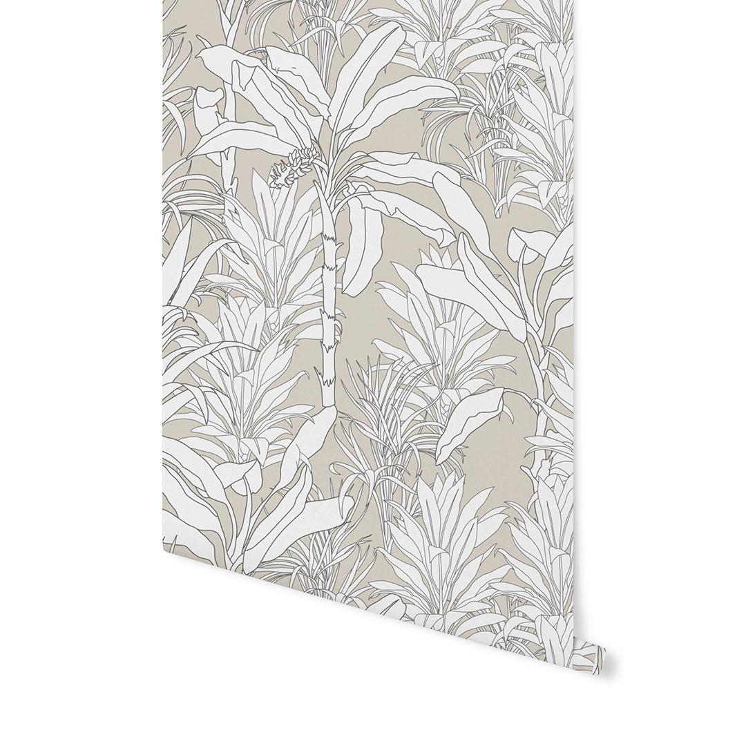tapeta w liście,tapeta modern, tapeta geometryczna, tapeta w linie