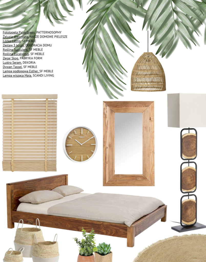 tapeta w liście palmy, tapeta w liście, tapeta tropilalna